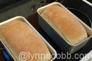 Mmm! Baking bread