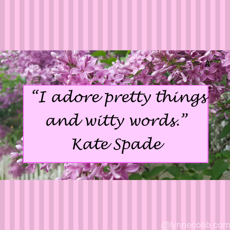 I Adore Pretty Things And Witty Words Kate Spade Lynne Cobb - Some Mid-...